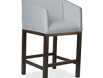 SOUTH CONE Burke Barstool - BURKBS30COG/WHITE