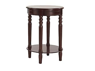 Ore International ORE International 7901-ESP 27.5 Laurel Espresso Chairside Table