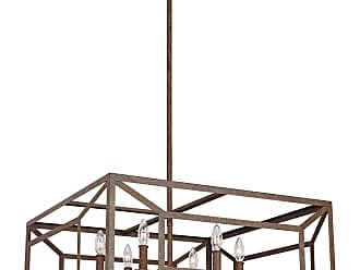 Feiss Marquelle - 6 - Light Chandelier in Weathered Iron