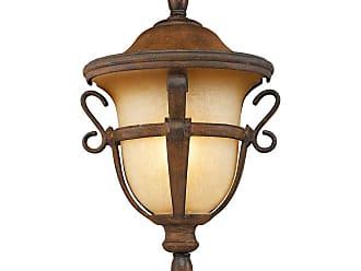 Kalco Tudor Outdoor 1-Light Medium Porch Light in Walnut