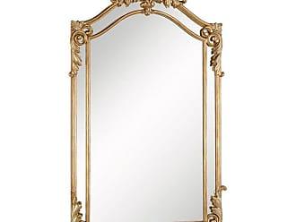Elegant Furniture & Lighting Antique Oversized Wall Mirror - 30W x 48H in. - MR-3342