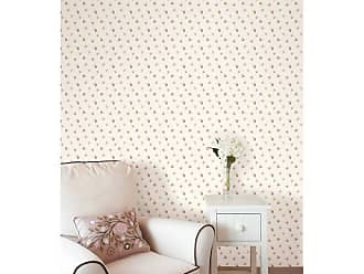 Brewster Home Fashions Debbie Small Rose Toss Wallpaper Purple - 487-68812