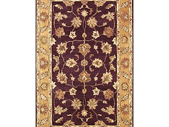 Noble House Golden Area Rug - Burgundy/Gold, Size: 8 x 11 ft. - GOLD801811