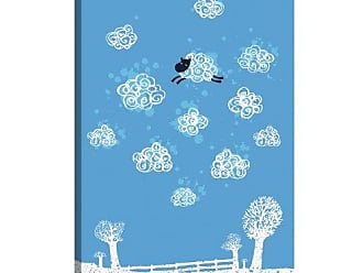 iCanvas ART 13806 Just Like a Cloud Canvas Print by Budi Satria Kwan, 26 by 18-Inch, 0.75-Inch Deep