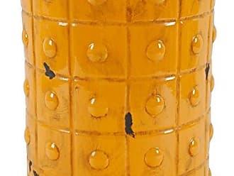 Benzara Slickly Functional Garden Stools Orange