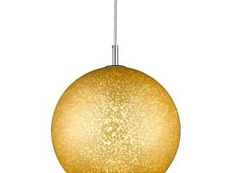 Z-Lite 914-12 Nimbus Single Light 12 Wide Pendant with Gold Glass