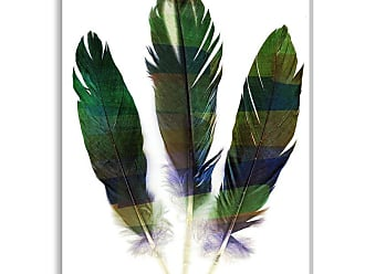 Gallery Direct Banding Plume I Indoor/Outdoor Canvas Print by NEO, Size: Medium - NE73488