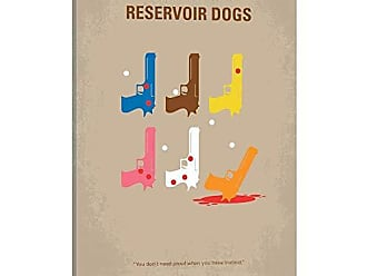 iCanvas Reservoir Dogs Minimal Movie Poster Canvas Print 26 x 18