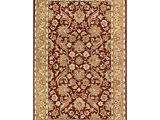 Noble House Harmony Area Rug - Burgundy/Gold, Size: 8 x 11 ft. - HAR903811