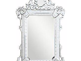 Elegant Furniture & Lighting Venetian Wall Mirror - 39.25W x 55.25H in. - MR-2016C