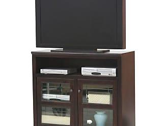 Eagle Furniture Savannah 45 in. Plain Glass Wide TV Stand - 92843PLCR