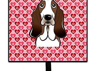 Carolines Treasures Bichon Frise Hearts Wall Hook Small Multicolor