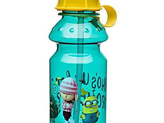 Zak designs Despicable Me 14oz Kids Water Bottle with Straw - BPA Free with Easy Clean Design, Despicable Me