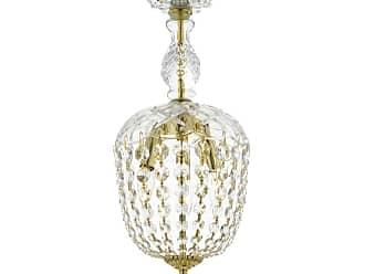 Harrison Lane J2-1102 3 Light Single Tier Crystal Globe Chandelier