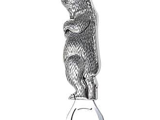 Thirstystone Bottle Opener, Standing Bear, Silver