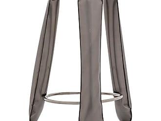 Zieta Plopp Bar Stool In Industrial Steel By Zieta