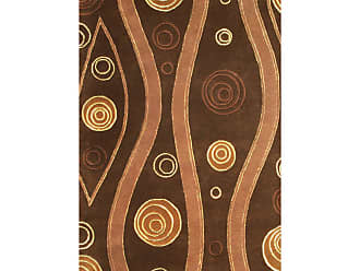 Noble House Citadel Area Rug - Dark Brown, Size: 8 x 11 ft. - CIT403811