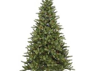 Vickerman King Spruce Tree with 350 LED Light, 6.5-Feet by 47-Inch, Multicolored