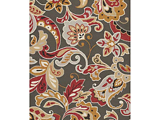 Kas Rugs Harbor Taupe Flora Indoor/Outdoor Area Rug, Size: 2 x 3 ft. - HAR42132X3