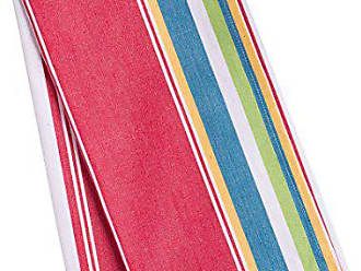 LinenTablecloth Sunset-Striped Kitchen Towels, 2-Pack