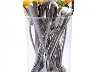CybrTrayd R&M Stainless Steel Iced Tea Spoons (Bucket of 48), Multicolor