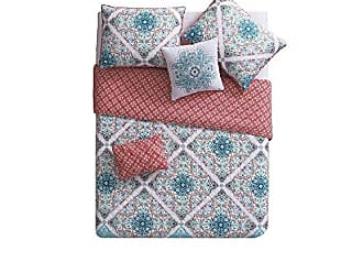 VCNY Home VCNY Home Windsor 4 Piece Reversible Quilt Cover Set, Twin/Twin XL, Multicolor