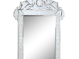 Elegant Furniture & Lighting Venetian Wall Mirror - 27.6W x 35.8H in. - MR-2014C