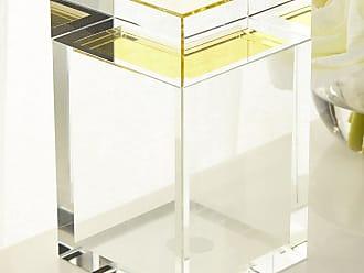 John-Richard Tall Saffron Yellow Crystal Box