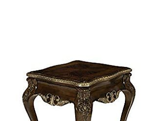 Michael Amini Imperial Court End Table, Radiant Chestnut