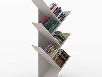 Siena Móveis Estante para Livros Diagonal Spine Siena Móveis Moon