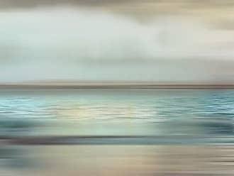 Portfolio Canvas Decor Portfolio Décor Gallery Wrapped Canvas Wall Art, 35x35 Shimmering Sea Square by Nan, 35 x 35