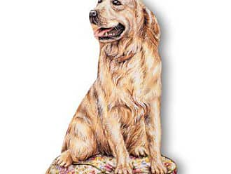 The Stupell Home Décor Collection Stupell Home Décor Golden Retriever Decorative Dog Door Stop, 19 x 0.5 x 12.5, Proudly Made in USA