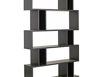 Baxton Studio Goodwin 5 Level Bookshelf - FP-5DS-SHELF (3A)