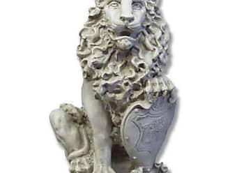 Orlandi Statuary Richelieus Guard Lion Garden Statue - F4025LRICHELIEULION