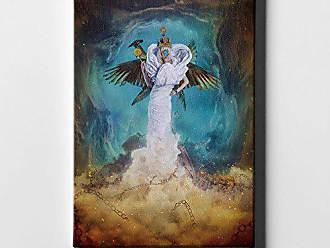 37 x 37 Blue Cortesi Home City of Light by Mario Sanchez Nevado Giclee Canvas Wall Art