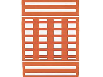 E by Design Ebydesign Blanket Stripe Print Beach Towel 30 x 60 Orange
