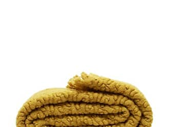 L'OBJET Lobjet - X Haas Brothers Vermiculation Mohair Blend Throw - Gold