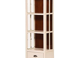 Eagle Furniture West Winds 27 in. Bookcase with Drawer Tempting Turquoise Concord Cherry - WWBC711727TTCC