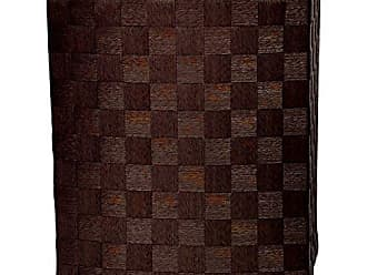 Oriental Furniture 27 Natural Fiber Laundry Hamper - Mocha