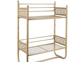 Ashley Furniture Filigree Wall Shelf, Gold Finish