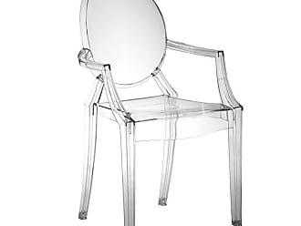 Rivatti Cadeira Infantil Louis Ghost com Braço Incolor
