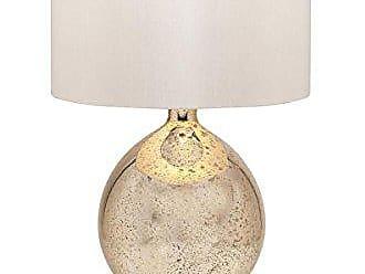 Urban Designs Tara 31-Inch Champagne Mercury Glass Table Lamp