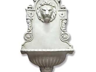 Orlandi Statuary English Lion Wall Indoor/Outdoor Fountain - F6607