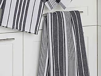 Danica Studio Oversized graphic contrast tea towels Set of 3