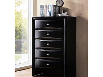 Round Hill Furniture Blemerey 5 Drawer Chest - B110C