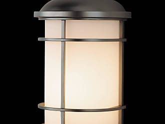 Feiss OL2203BB Lighthouse Wall Mount Lantern in Burnished Bronze finish with Opal etched glass