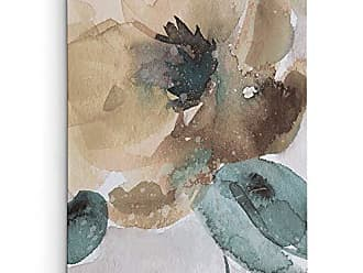 WEXFORD HOME Maison Rouge Poppy II Gallery Wrapped Canvas Wall Art, 36x48, Wexford HomeMetallic Forest I Hand