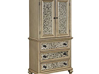 Home Styles Visions Champagne Finish Door Chest by Home Styles
