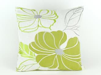 Wayborn Embroidered Poly Linen Pillow Mint Green - 11265-1