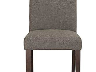 Boraam 83618 Champagne Parson Dining Chair, Steel Gray